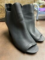 Madden Girl Womens Fiizzle Ankle Fashion Boots, Black Paris, Size 8 And 8.5