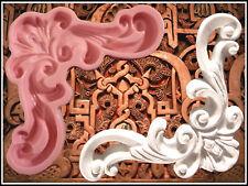 Ecke Stuck Dekorationselemente Gießform Kautschuk gips Ornament Relief (51)