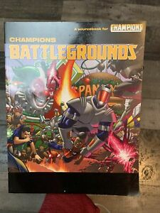 Champions RPG Battlegrounds Sourcebook SC  FN 5th Edition