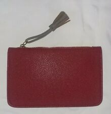 Chinese Laundry Women's Red Bifold Wallet with Tassel