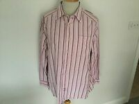Fat Face Mens Striped Long Sleeve Shirt Size XL. Great Condition.
