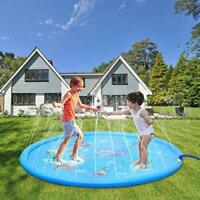Sprinkle and Splash Play Mat, Summer Children Water Pool Pad Toys Outdoor