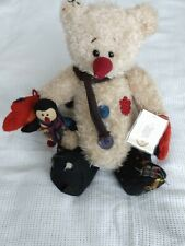 More details for the ganz cottage collectible bear mr frosty first edition no. cc1377
