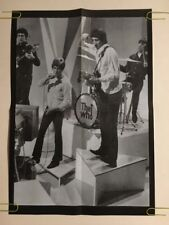 Original Vintage Poster The Who Pin-up Music Memorabilia Primo Advertising Ad