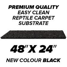 """48""""x24"""" Premium Reptile Carpet Substrate For Vivarium Snake Gecko Bearded Dragon"""