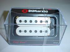 DIMARZIO DP151 PAF Pro Humbucker Guitar Pickup - WHITE REGULAR SPACING