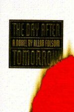 The Day after Tomorrow by Allan Folsom (1994, Hardcover) 1st Edition