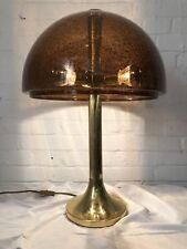 Mid Century Design Lampe 60er 70er Messing Plexiglas Boardlampe Stehlampe