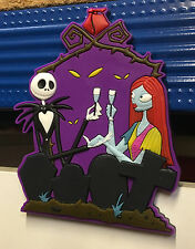 Nightmare Before Christmas Jack & Sally Character Soft Touch Fridge Magnet