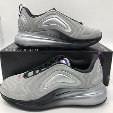 Nike Air Max 270 Metallic Silver AO2924-019 Running Shoes Men's Size NEW