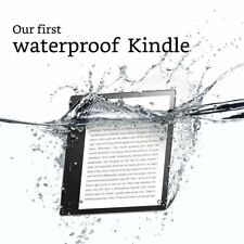 "New Kindle Oasis E-reader - 7"" Display (300 ppi), Waterproof 32 GB, Wi-Fi"