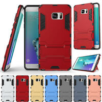 For Samsung Galaxy J7 J3 A5 2017 A7 Prime ShockProof PC Hybrid Rubber Case Cover