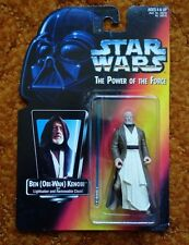 STAR WARS THE POWER OF THE FORCE:BEN (OBI-WAN) KENOBI ACTION FIGURE 1995