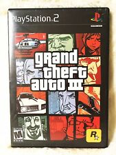 GRAND THEFT AUTO III GTA 3 PS2 PLAYSTATION 2 Classic Fast Shipping
