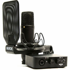 Rode Complete Studio Kit with AI-1 Audio Interface, NT1 Microphone, SMR & Cables