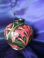 Moorcroft Nicola Slaney tube lined 10.5cm vase