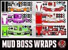 MudBoss Wrap Only for traxxas slash truck salvas body PICK YOUR WRAP Group 1