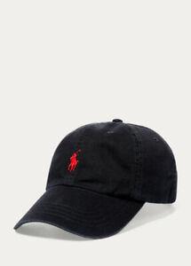 Polo Ralph Lauren Cotton Chino Baseball Adjustable buckled strap Cap