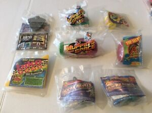 VTG Wendy's Kids Meal Toy lot of (8) still sealed in original packaging