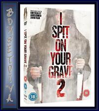 I SPIT ON YOUR GRAVE 2 -  Jemma Dallender & Joe Absolo **BRAND NEW DVD **