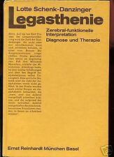 Legasthenie--Diagnose und Therapie-Lotte Schnek -Danzig