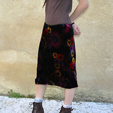 MARIELLA BURANI Gonna In viscosa & Seta Size 44