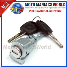 SKODA FABIA 1 MK1 1999-2007 FRONT RIGHT Door Lock Barrel & Keys LOCKSET New !!!