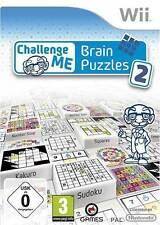 Nintendo Wii juego *** Challenge udm: Brain puzzles 2 *** nuevo * New