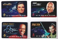 Star Trek Phone Cards Set of Four 1995