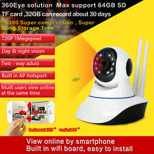 Maaxview HD720p Indoor WI-FI IP Security Camera with Night Vision / PTZ