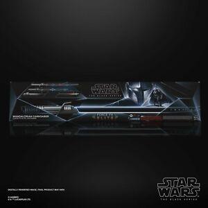 Hasbro Star Wars The Black Series Mandalorian Darksaber Force FX Elite PREORDER*
