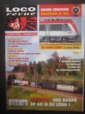 LOCO REVUE n°633 - BB 36000 JOUEF - CAPVERN - LENZ - TILLIG - ROCO - RESEAU HOM