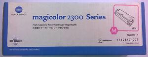 Konica Minolta Original Toner 1710517-007  Magicolor 2300 Series   Rechn.+ MwSt.