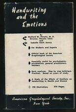 Handwriting and the Emotions Malford Thewlis & Isabelle Clark Swezy Signed 1954