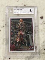 🔥 2003 2004 03-04 Topps Chrome Lebron James #111 ROOKIE RC BGS 8 9.5 X 2 Lakers