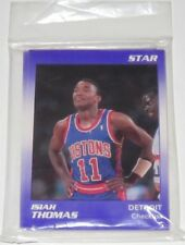 1991 Star Detroit Pistons Isiah Thomas Basketball Sealed 11-Card Set Brand New