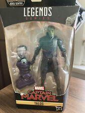 Marvel Legends Series Captain Marvel Talos Action Figure BAF Kree Sentry.