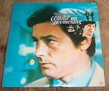COMME UN BOOMERANG (Georges Delerue) original near mint Japan stereo lp (1977)