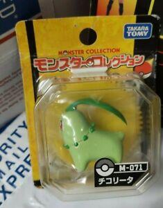 Pokemon Monster Collection Chikorita Takara Tomy Japan Figure M-071 new