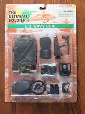 """Ultimate Soldier 1/6 12"""" US Navy Seal Accessories Set  New on Sealed Card"""