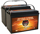 Qty2 Vmax Mr137-120 Agm Grp 31 Batteries Motorguide Xi5 80lb 24v Trolling Motor