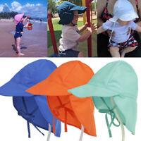 1PC Outdoors Beach Headwear Children's Hat Quick-drying Sunscreen Visor Caps