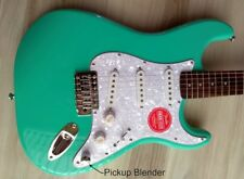 Fender  Stratocaster Guitar Turbo+ SSS w/ Blender MOD Seafoam Squire Strat NEW