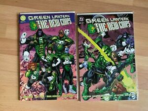 Green Lantern The New Corps 1 and 2 - High Grade Comic Book  - B53-45