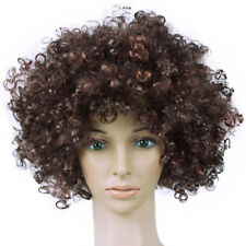 CURLY COLORFUL AFRO WIG FANCY DRESS PARTY CLOWN FUNKY DISCO FOR KIDS AUDLTS