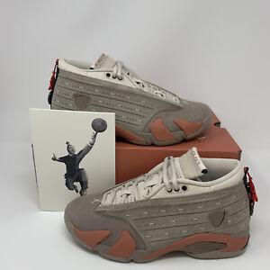 Nike CLOT x Air Jordan 14 Retro Low Terracotta DC9857-200 Mens Size 4 FREE SHIP!