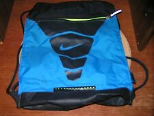 NIKE BLUE 3 COMPARTMENT STRING BAG RN#56323 / CA#05553 - PRE-OWNED