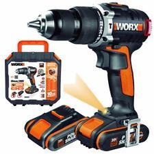 Worx Wx373 taladro percutor 2000 W 20 V negro