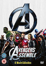 Marvel's The Avengers Collector's Set DVD 6-Disc New UNSEALED MINOR BOX WEAR