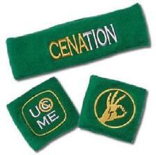 CATCH WWE Bracelets Poignets Bandeau CENA Vert CENATION